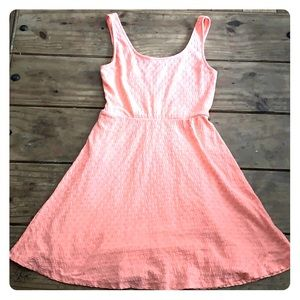 Mossimo Tank Skater Style Sundress Peach Small